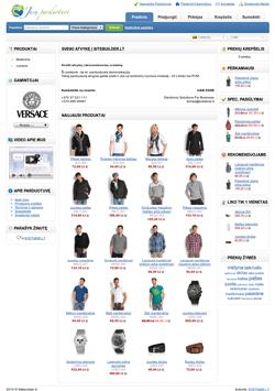 Daugiau informacijos apie elektroninės parduotuvės nuomą