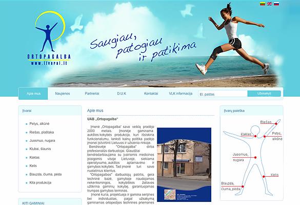 Interneto svetainių kūrimas - naujausios interneto svetainės / ortopagalba