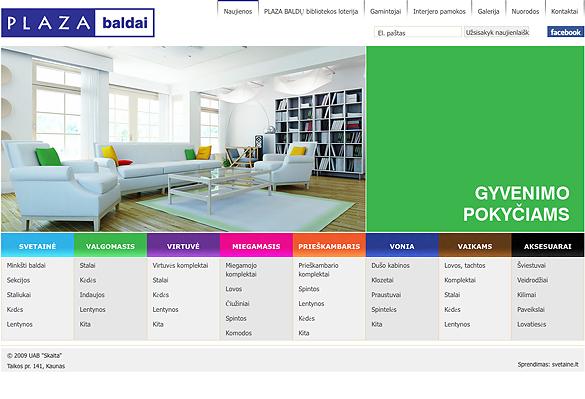 Interneto svetainių kūrimas - naujausios interneto svetainės / Plaza