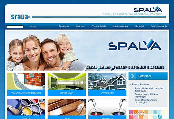 Interneto svetainių kūrimas - naujausios interneto svetainės / Srava
