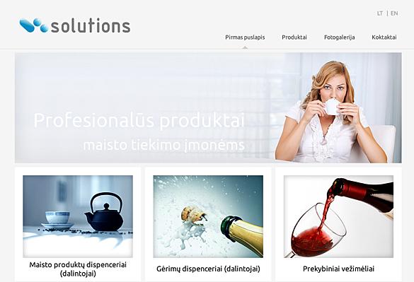 Interneto svetainių kūrimas - naujausios interneto svetainės / V-solutions