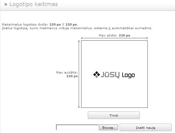 svetaine.lt - logotipo keitimas