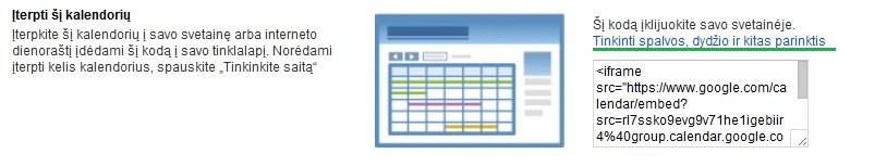 kalendoriaus kodas